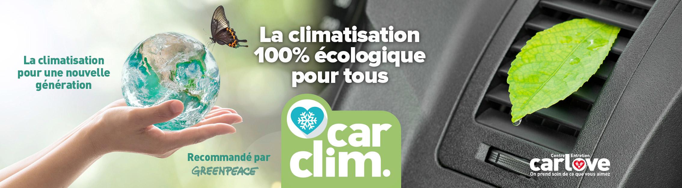 Carclim - la climatisation auto 100% écologique